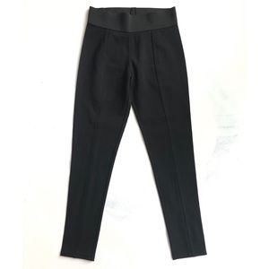 NWT DKNY Black Leggings Elastic Waist Band